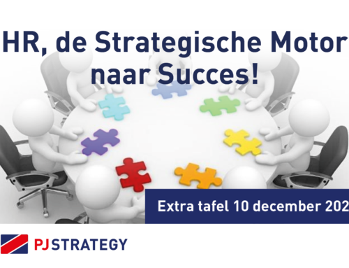 HR, The Strategic Engine to Success! Extra Table December 10! Interested? Register here! HR plays the biggest role in creating, developing engaged employees on the road to success. Why? We would like to invite you to this inspiring Table!